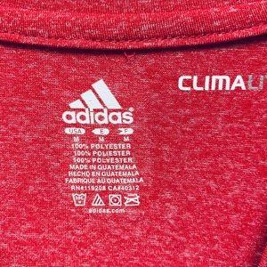adidas Shirts - ADIDAS Chicago Basketball Climalite M Red